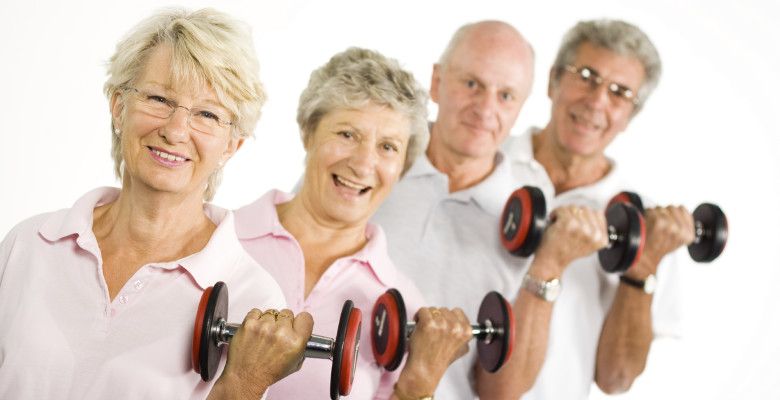 strength training at older age stronger training